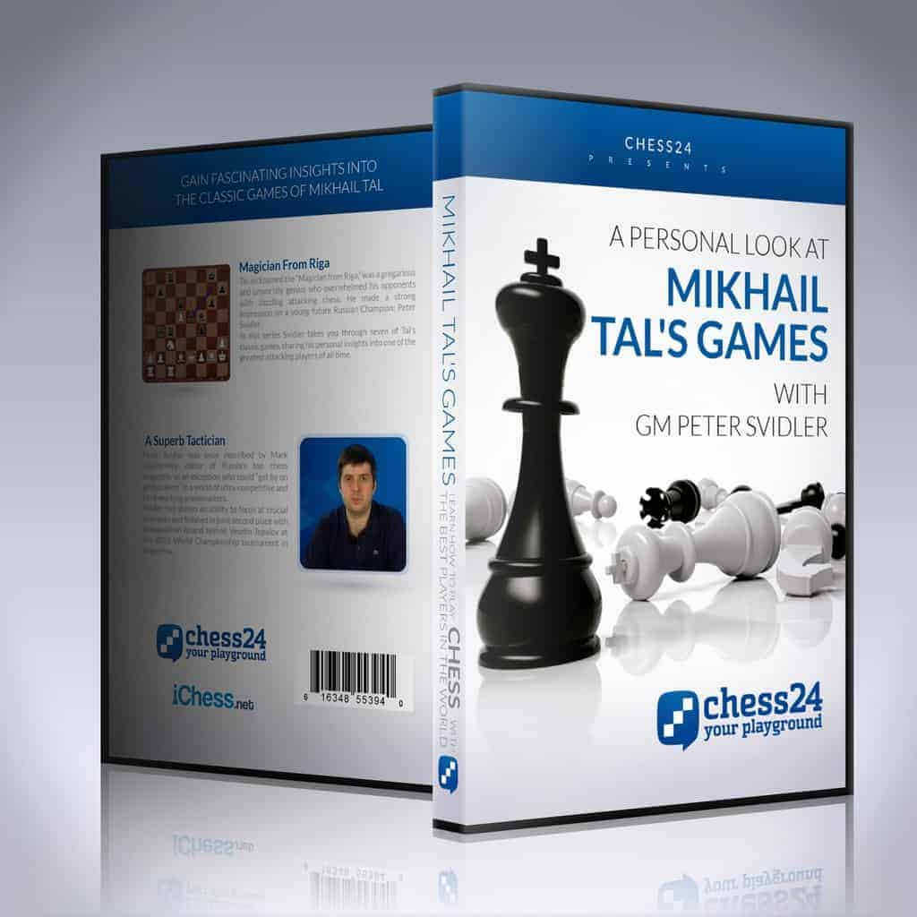 A personal look at Mikhail Tal's games - GM Peter Svidler