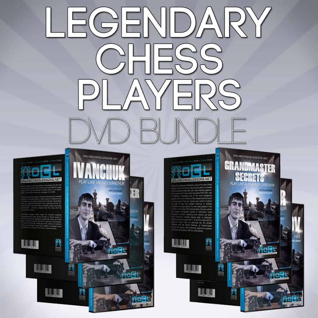 Legendary Chess Players DVD Bundle