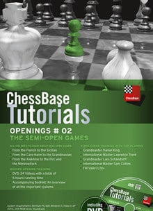 ChessBase Tutorials Openings # 02: The Semi-Open Games (Physical Disc)