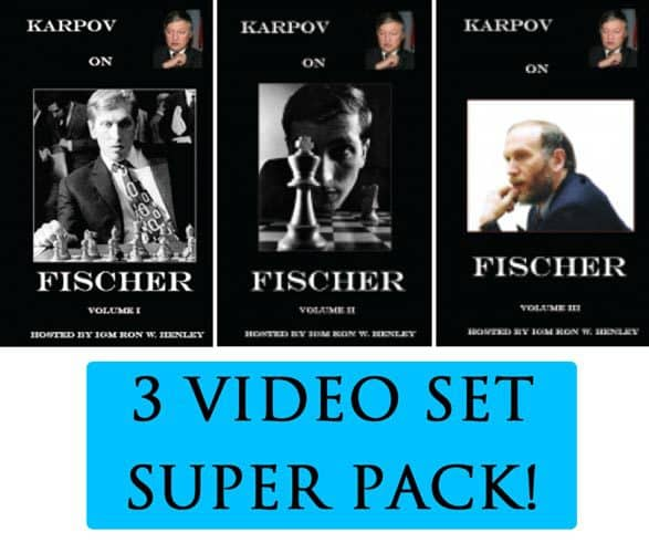 Karpov on Fischer - Volumes 1,2 and 3 - Digitally Remastered