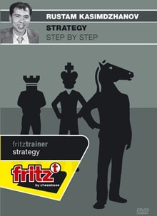 Strategy - step by step - GM Rustam Kasimdzhanov (Physical Disc)