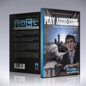 Play Aggressive Chess like a Grandmaster (Beginner DVD) - GM Damian Lemos