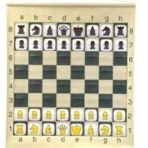 "28"" Pouch-Style Chess Demonstration Set with Deluxe Carrying Bag"
