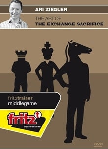 The Art of the Exchange Sacrifice - IM Ari Ziegler (Physical Disc)