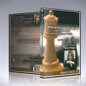 Volume 4 - Winning Chess The Easy Way - Learn How To Avoid Opening Traps And Pitfalls
