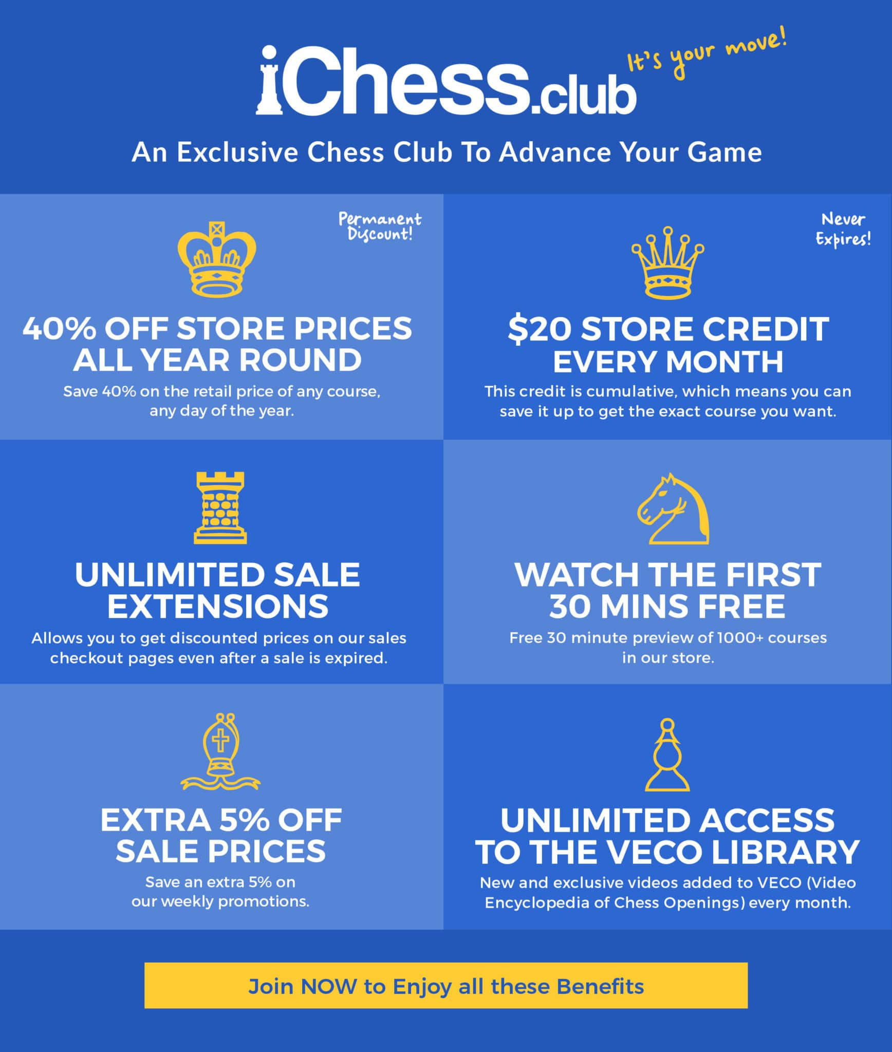 iChess Club: An Exclusive Chess Club To Advance Your Game