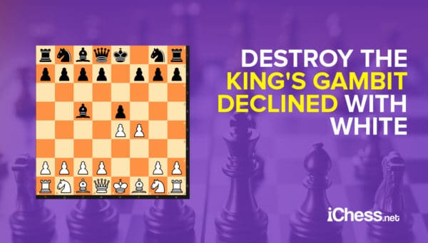 Pounding the King's Gambit Declined
